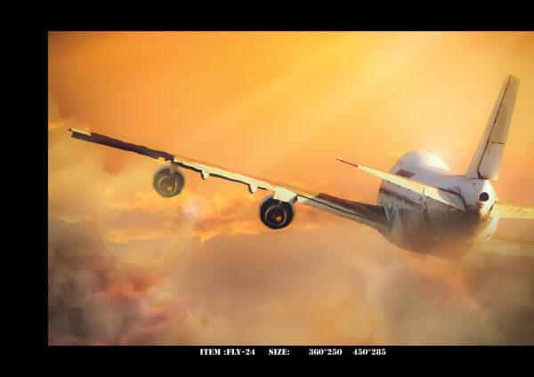 پوستر پاپیروس آلبوم FLIGHT