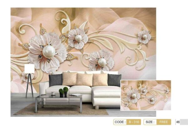 پوستر پاپیروس آلبوم Beauty luxury