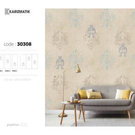 کاغذدیواری دست ساز آلبوم karizmatic کد : 30308